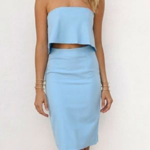 NWT Sabo Skirt two piece dress